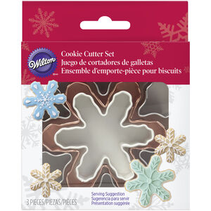 Wilton Colour Snowflake Nesting Cookie Cutter Set