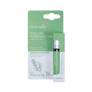 Aeromatic Roll On Rosemary Mint Essential Oil