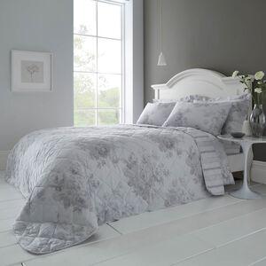 Whitney 200 x 220cm Bedspread - Grey