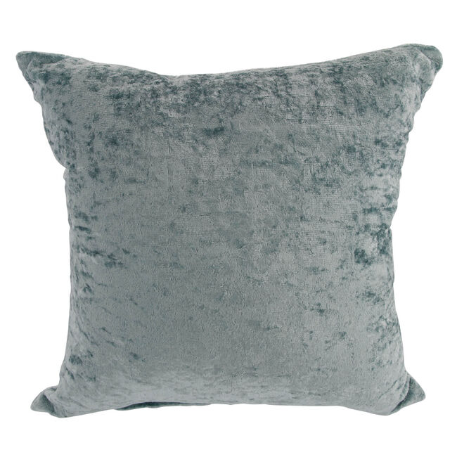 Velvet Crush Cushion Cover 2 Pack 45x45cm - Duck Egg