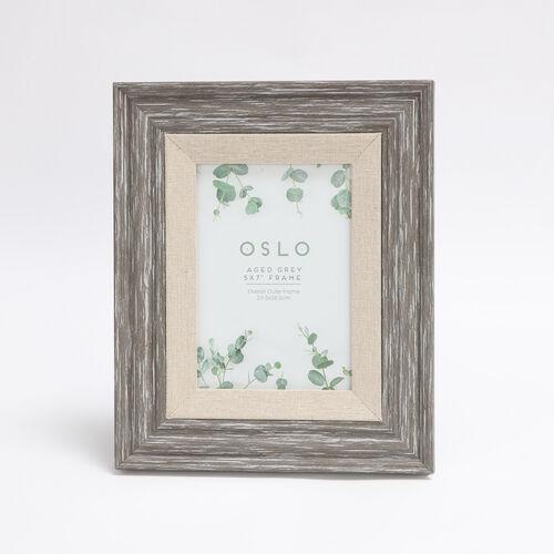 A4 OSLO AGED GREY Frame