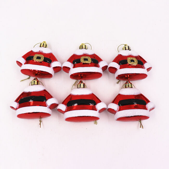 3D Santa Suits - 6 Pack