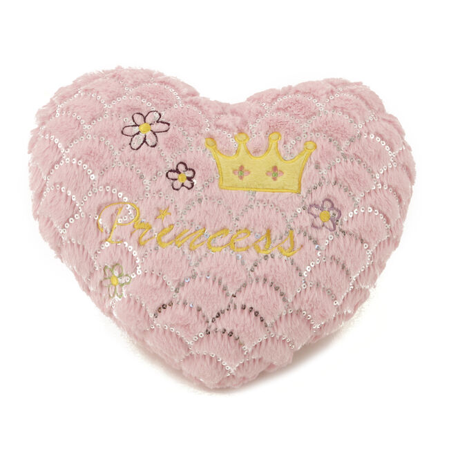 Pink Hearts Princess Cushion 40cm x 40cm