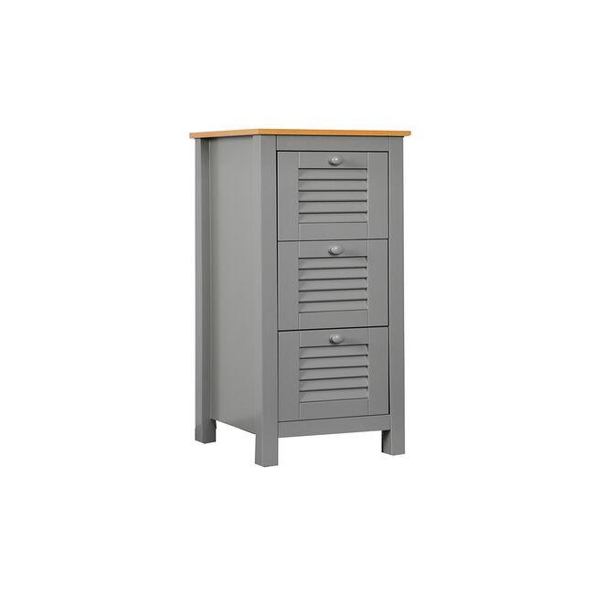 Darcy 3 Drawer Cabinet  W30 x D30 x H87cm