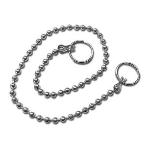 Facklemann Stainless Steel Plug Chain