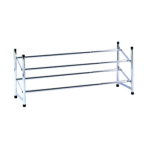 Extendable 2 Tier Shoe Rack