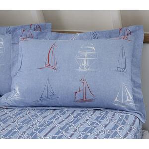 Seoil Oxford Pillowcase Pair - Blue