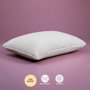 Plush Teddy Fleece Pillow