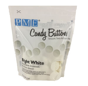 PME Candy Buttons 280g - Bright White