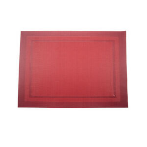 Interwoven Border Placemat Red