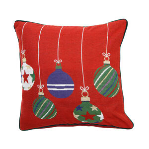 Wonderful Baubles 2Pk 45x45 Cushion Cover