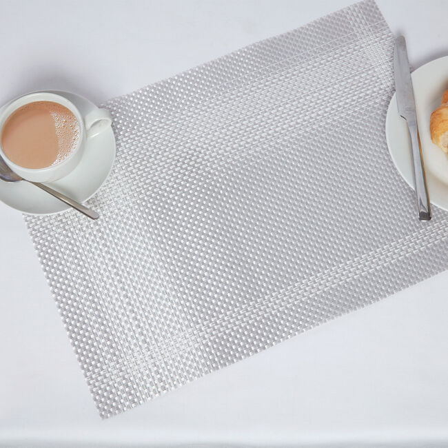 Check Grey Placemat