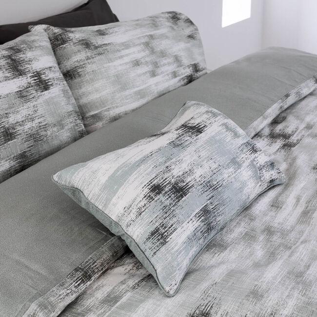 Marble Grey Cushion 30cm x 50cm