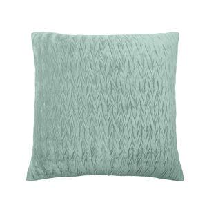 Velvet Crush Cushion 45x45cm - Duck Egg