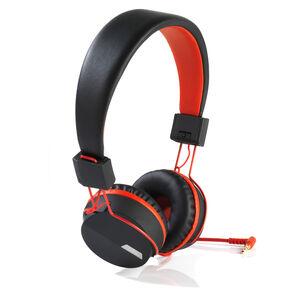 Intempo Attis Black/Red Headphones