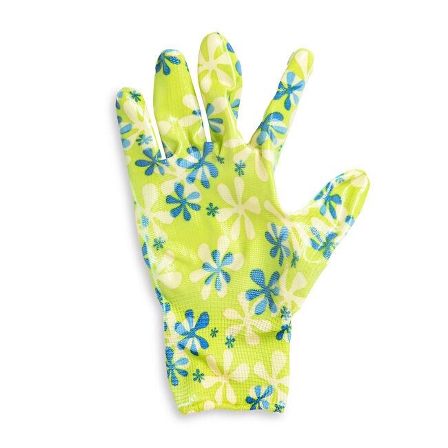 Printed Rubber Gardening Gloves