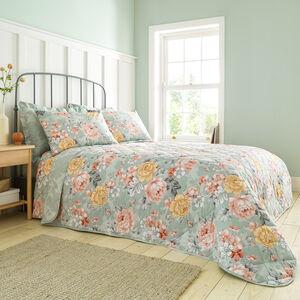 Bryony Bedspread 200x220cm - Sage