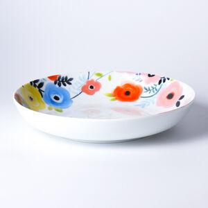 Atelier 75 Blue And White Flower Pasta Bowl