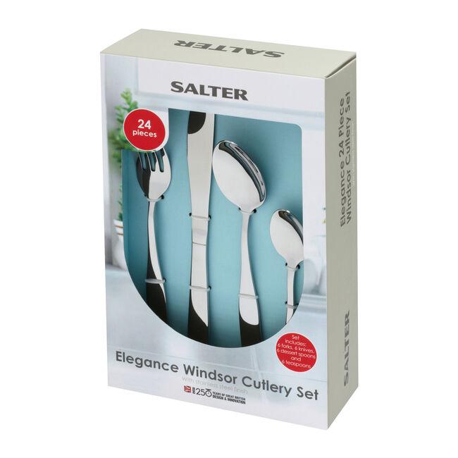 Salter Windsor Cutlery Set 24 Piece