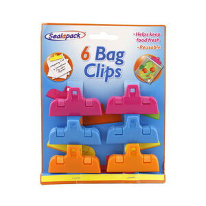 Sealapack Small Bag Clips 6 Pack
