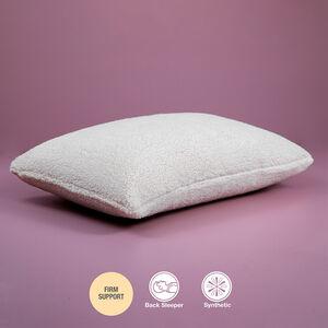 Plush Teddy Fleece Pillow