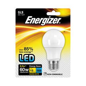 Energizer GLS E27 LED Bulb Opal 92W (EQ60W)