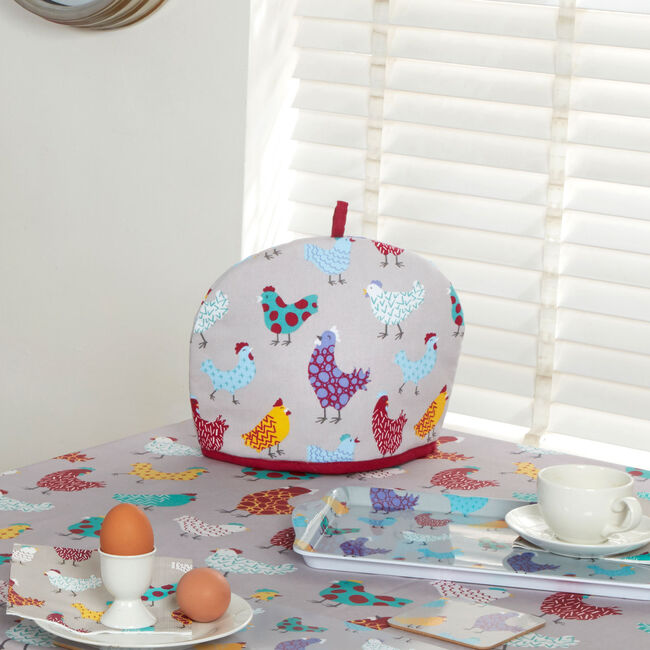 Happy Hens Tea Cosy