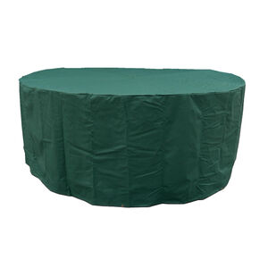 6 Seater Round Furniture Set Cover 380GSM