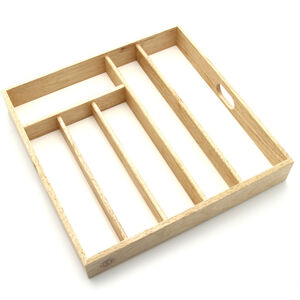 Cutlery Drawer Tray - Beech