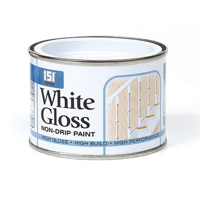Non-drip White Gloss Paint