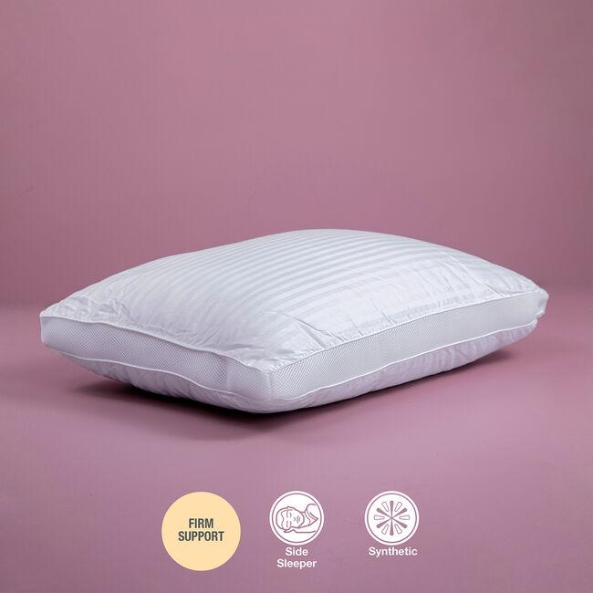 Bonne Nuit Cotton Stripe Pillow