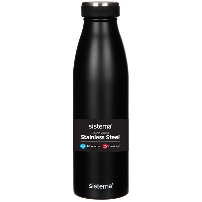 Sistema Stainless Steel 550ml Bottle