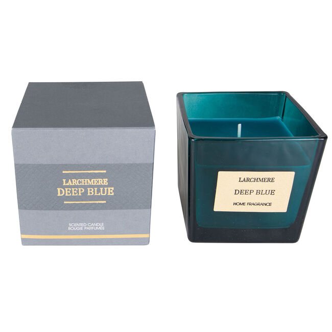Larchmere Deep Blue Scented Candle