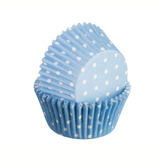 Mason Cash Polka Blue Cake Case 75Pk