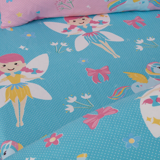 FAIRY UNICORN Junior Bed Fitted Sheet