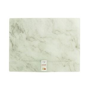 Marble Glass Worktop Saver - White