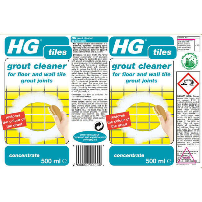 HG Grout Cleaner 500ml