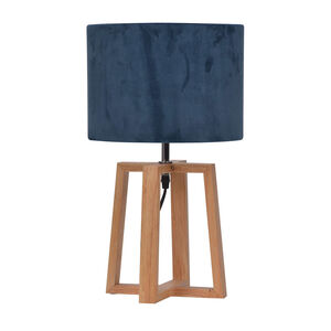 Wooden Cross Table Lamp