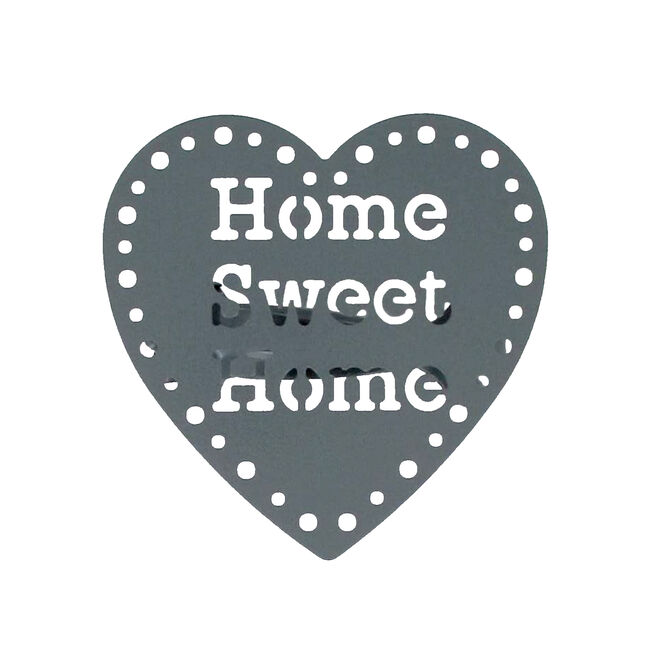 Home Sweet Home Dark Grey Curtain Clips