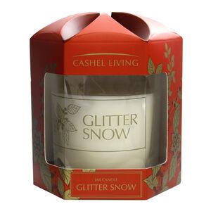Cashel Living Glitter Snow Jar Candle