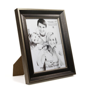 Antique Bronze Slim Photo Frame 8x10""