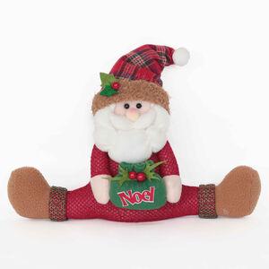 Tartan Santa Door Stopper