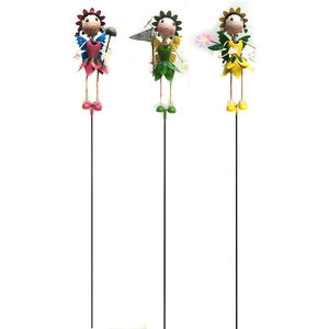 Garden Fairies Pot Stake