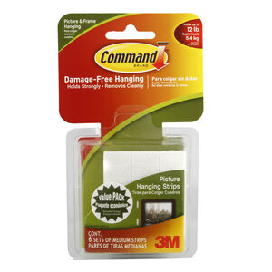 Command 6 Medium Picture Hanging Strips