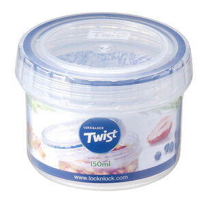 Lock & Lock Twist Round Container 150ml
