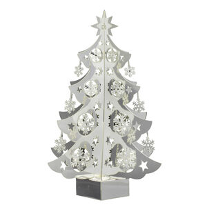 3D Hanging Silver Snowflakes Decoration