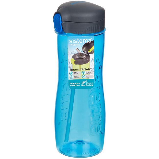 Sistema Tritan 800ml Quick Flip Bottle