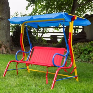 Childrens 2 Seater Swing Chair