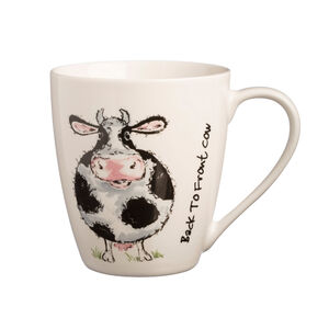 Price & Kensington Back To Front Cow Mug