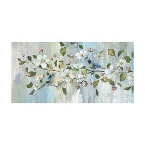 Delicate Blossom Canvas 50x100cm